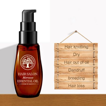 2 Pack Morocco Essential Oil - Best for Damaged, Dry, Curly or Frizzy Hair - Thickening for Fine/Thin Hair, Safe for Color and Keratin Treated