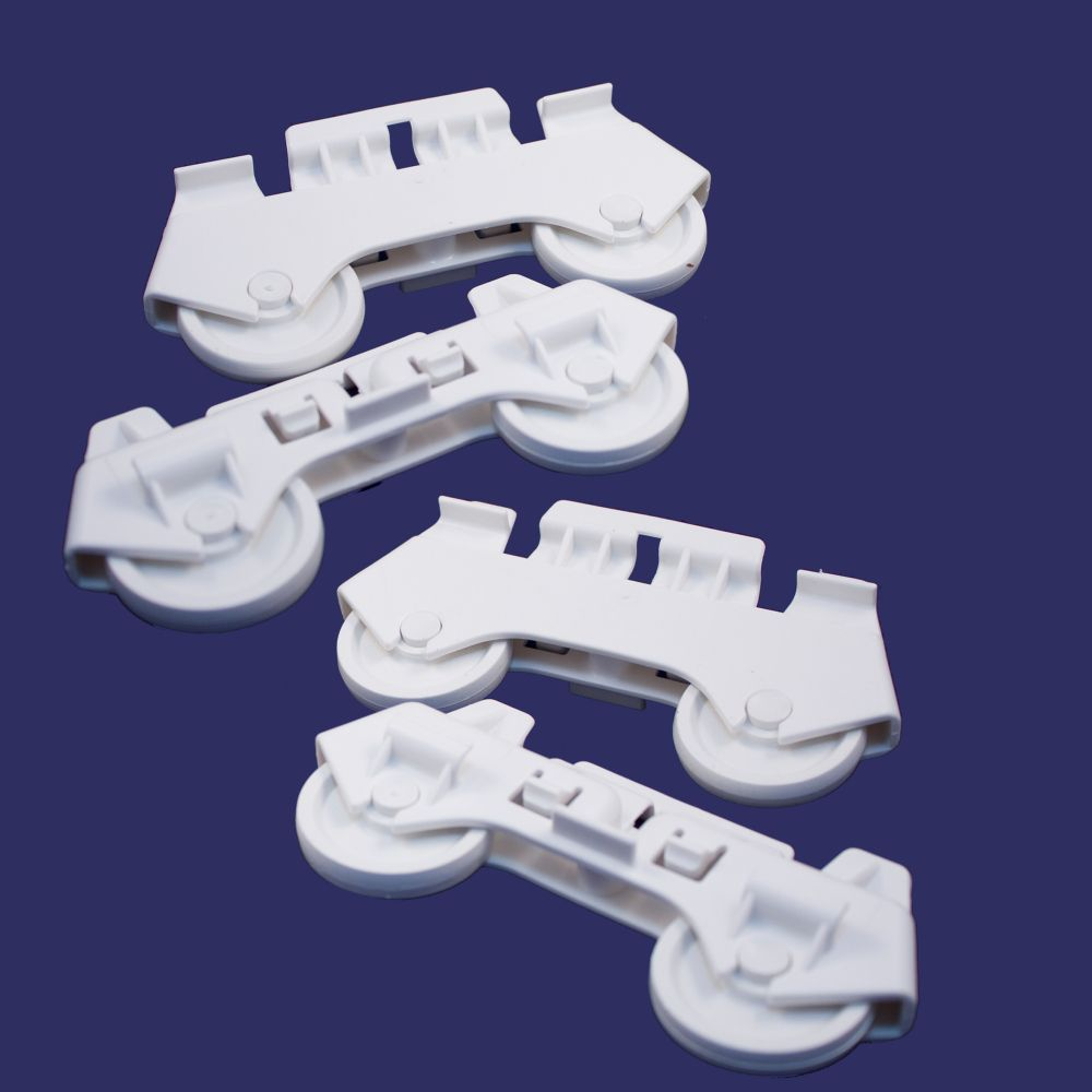 4317933 Whirlpool Dishwasher Dishwasher Lower Rack Roller 4 Pack by Whirlpool