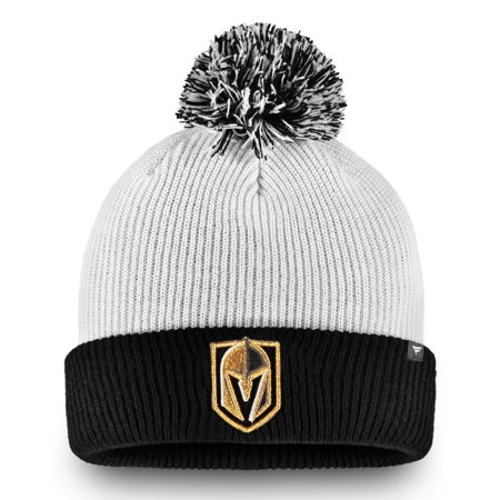 3da10d3cc73 Vegas Golden Knights Fanatics Branded Depth Cuffed Knit Hat with Pom ...