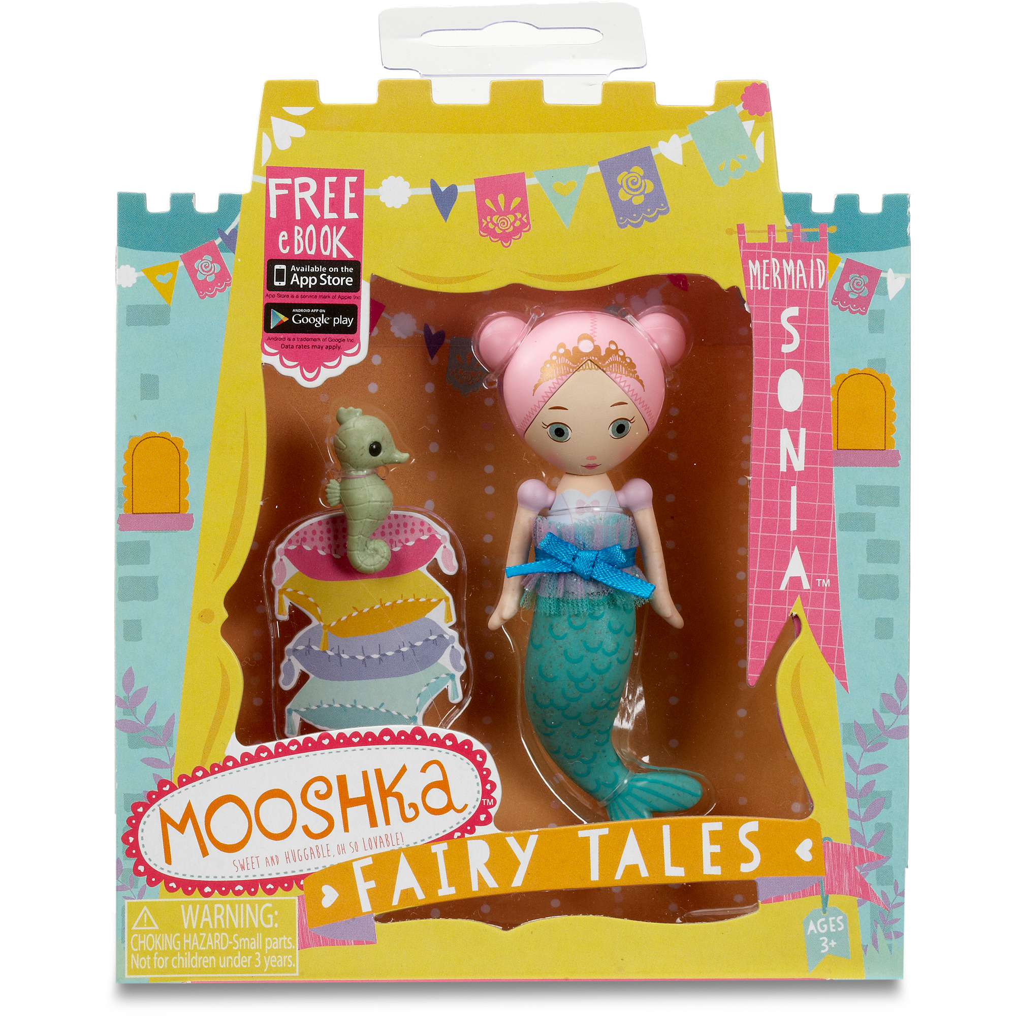 Mooshka Miniature Fairytale Mermaid Sonia Doll