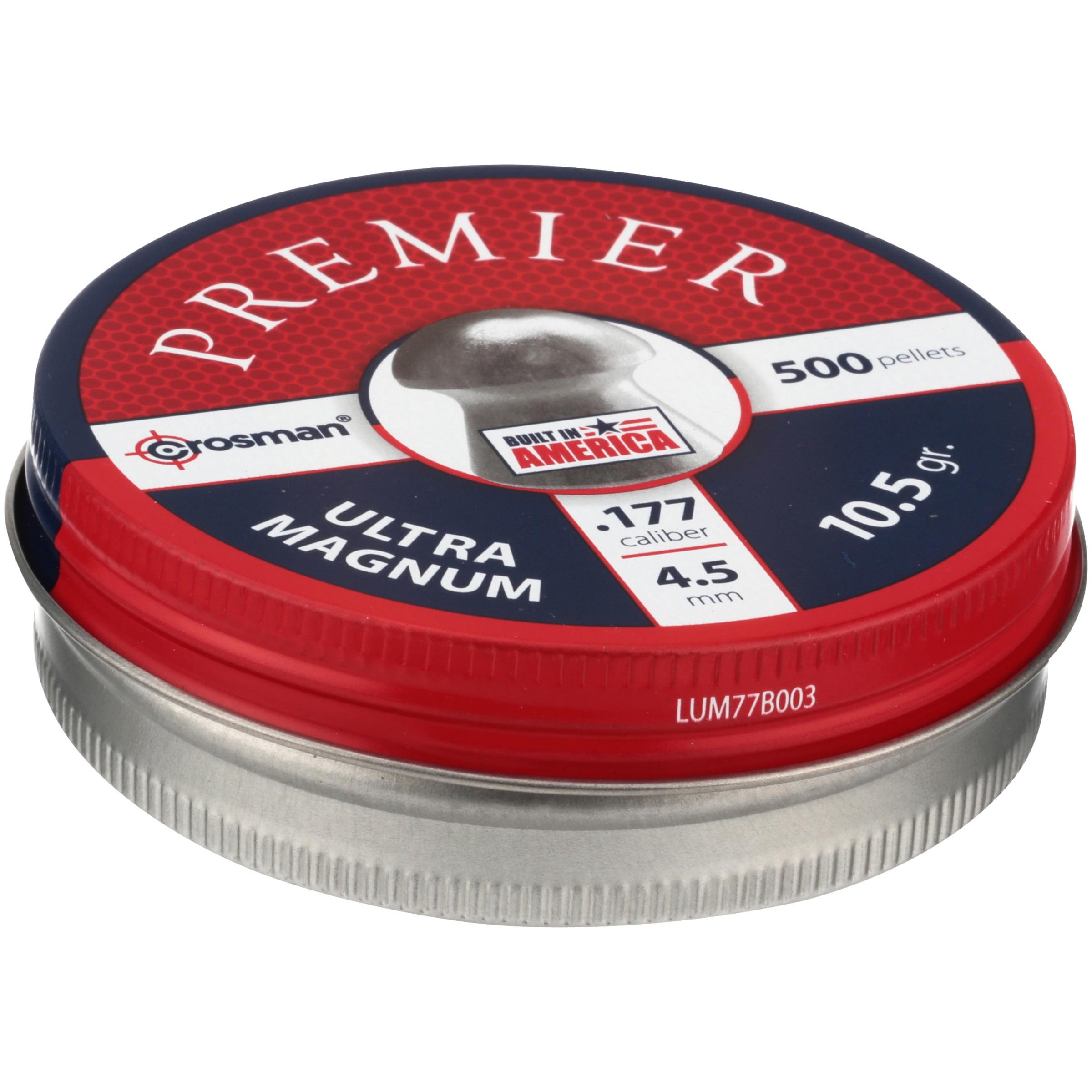 Crosman Premier Mag 177 Caliber Domed Pellets 500ct LUM77 by Crosman Corporation