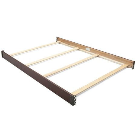 Delta Children Wooden Full-Size Bed Rails 0050, Walnut