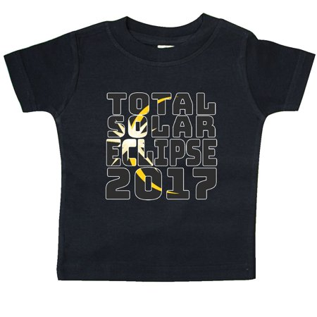Inktastic Total Solar Eclipse 2017 Baby T Shirt Space Bright 8 21 2017 Sun Moon