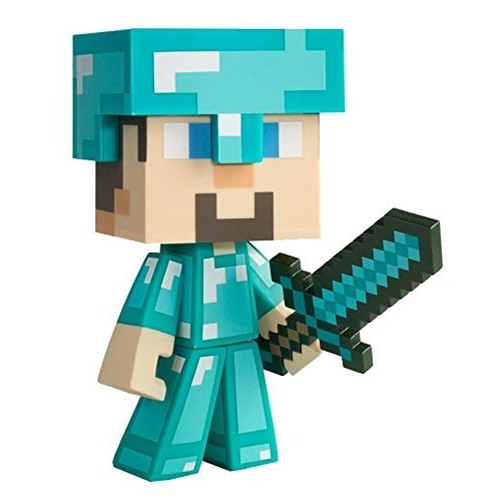"Minecraft Steve 6"" Vinyl Figure, Diamond Edition"