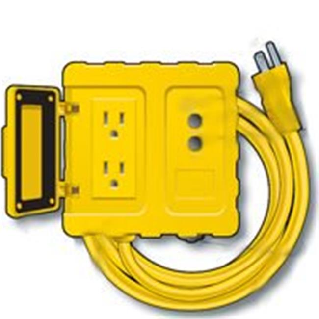 GF200806 Portable Gfci Box 6 Ft. 12-3 Ft. Cord Yellow
