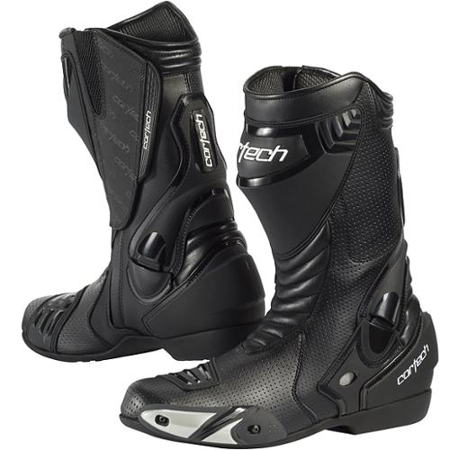 Cortech Latigo Air Road Race Boots Black