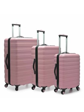 Traveler's Choice U.S. Traveler Cypress Colorful 3-Piece Hardside Spinner Luggage Set