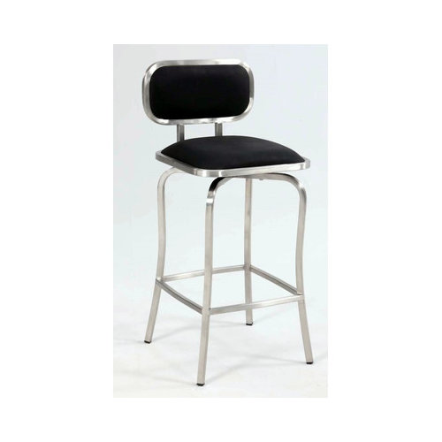 Chintaly Imports Modern 25.98'' Bar Stool with Cushion