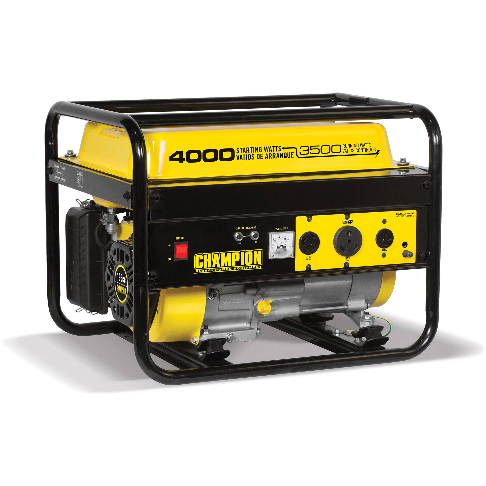 Champion Power Equipment 46596 3500 Watt RV Ready Portable Generator