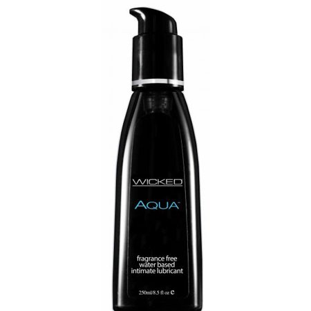 Wicked Aqua Free H2O-Based Lube - 8.5 Fl. Oz. / 250 ml