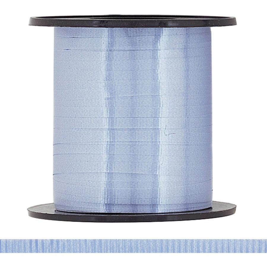 Curling Ribbon, Baby Blue, 500 yd, 1ct