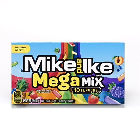 Mike And Ike Mega Mix Fruit Flavored Candies  5 0 Oz