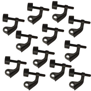 Oil Rubbed Bronze Extra Protection Hinge Pin Door Stop - 12 Pack