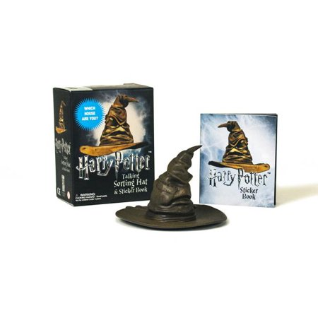(Harry Potter Talking Sorting Hat and Sticker Book: Which House Are You?)
