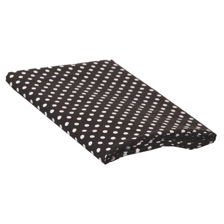 Bacati Pin Dots Cotton Fitted Crib Sheet