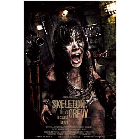 Skeleton Crew Movie Poster (11 x 17) Crewing Pop Art