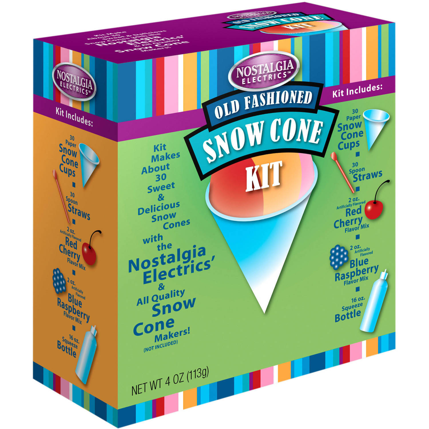 Nostalgia SCK800 Snow Cone Kit