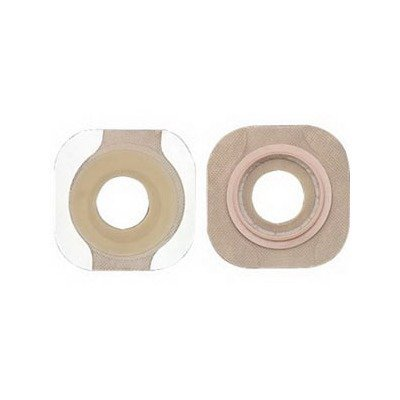 "New Image Pre-sized Flextend Skin Barrier, Floating Flange, With Tape, 14706, Stoma Size 1-1/4"" (32 mm), Pouch Size 1-3/4"" (44 mm) Flange, Green, 5/Pack By Hollister"