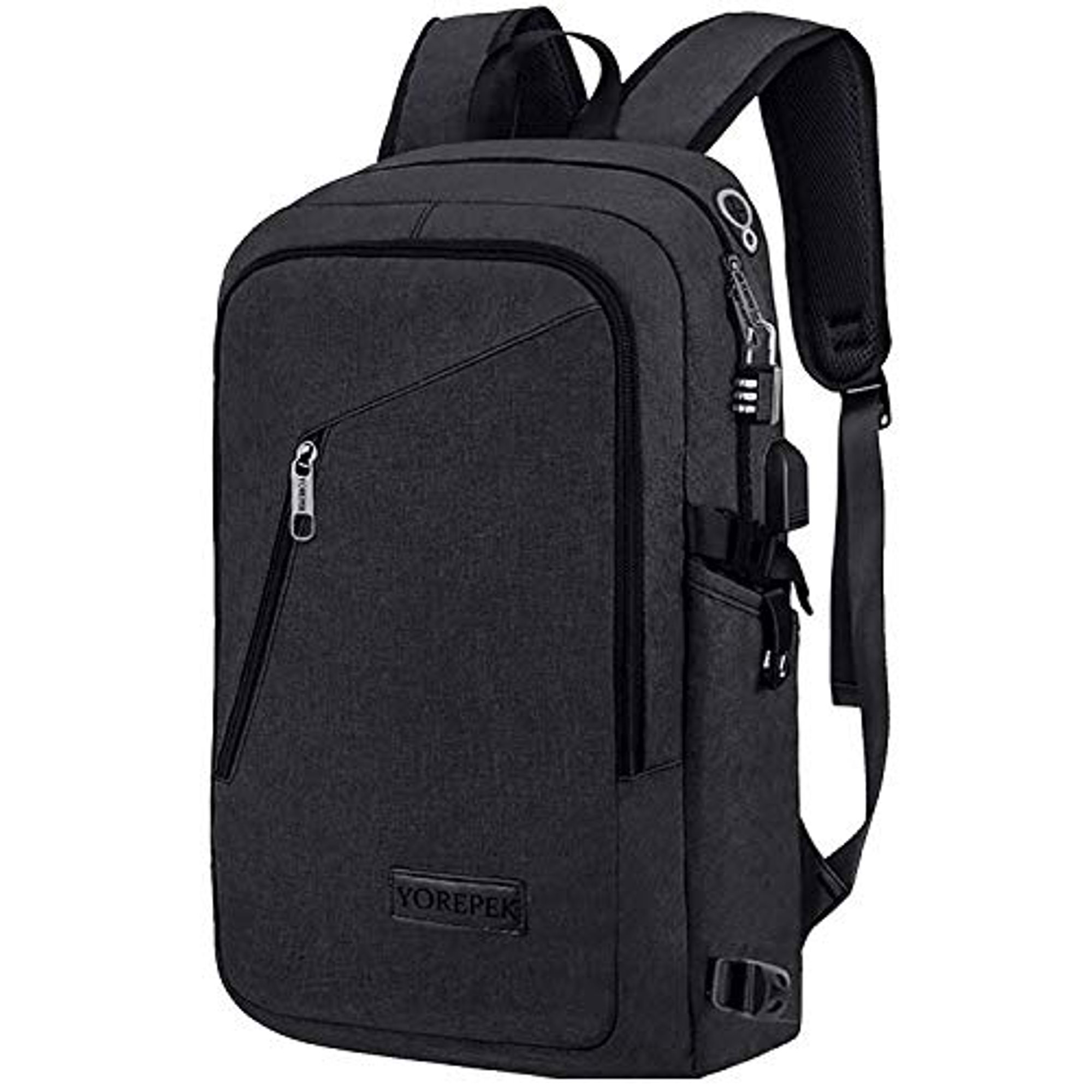 1c0fb157e751 Yorepek Slim Laptop Backpack, Business Computer Backpack w USB ...
