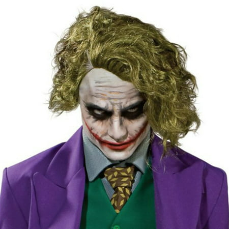 Batman Dark Knight - The Joker Adult Wig - Heath Ledger Joker Wig