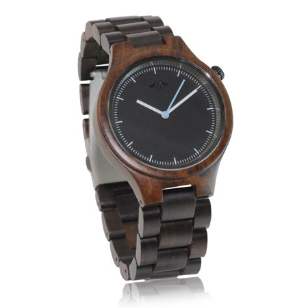 Angie Wood Creations Dark Sandalwood Women's Watch With Matching Bracelet - image 6 of 7