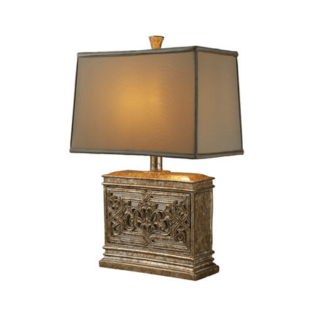 Table Lamps 1 Light With Courtney Gold Resin Mirror Medium Base 25 inch 100