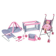 Lissi Dolls - Baby Play Set with 16 Inch Doll