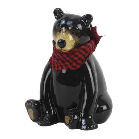Black Bear Money Bank - Bear Bank