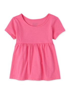 The Children's Place Baby & Toddler Girl Short Sleeve Tunic Top