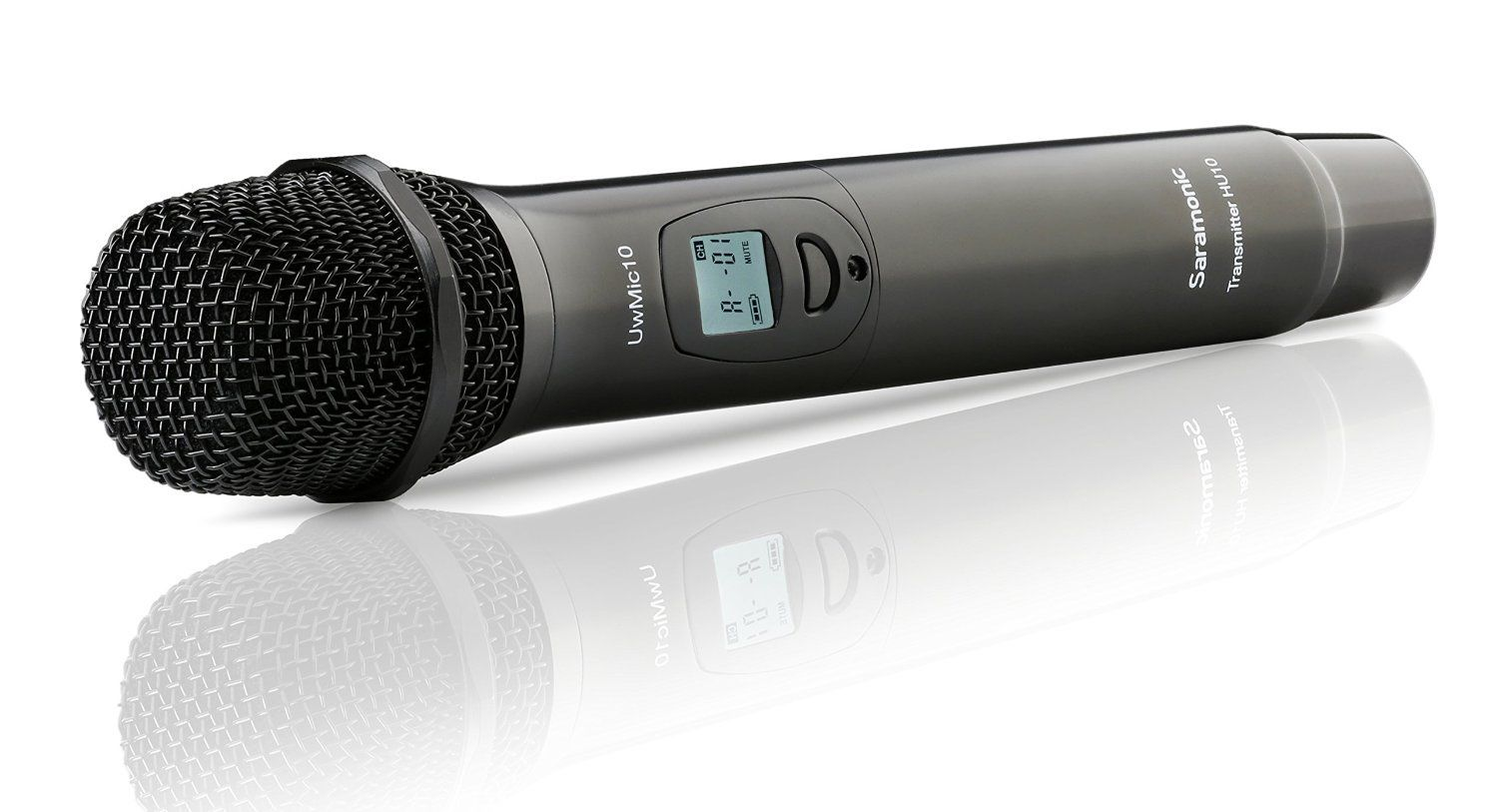 Saramonic HU10 96-Channel Digital UHF Wireless Handheld Microphone with Integrated... by