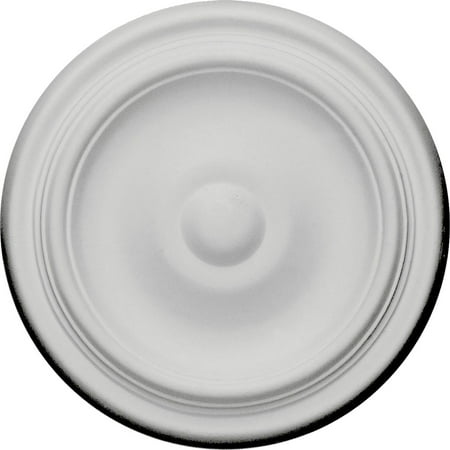 9 5 8 OD x 1 1 8 P Maria Ceiling Medallion Fits Canopies up to 1 3 4