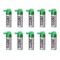 Boost Oxygen Natural Portable 2 Liter Pure Oxygen Canister, Flavorless (10 Pack)