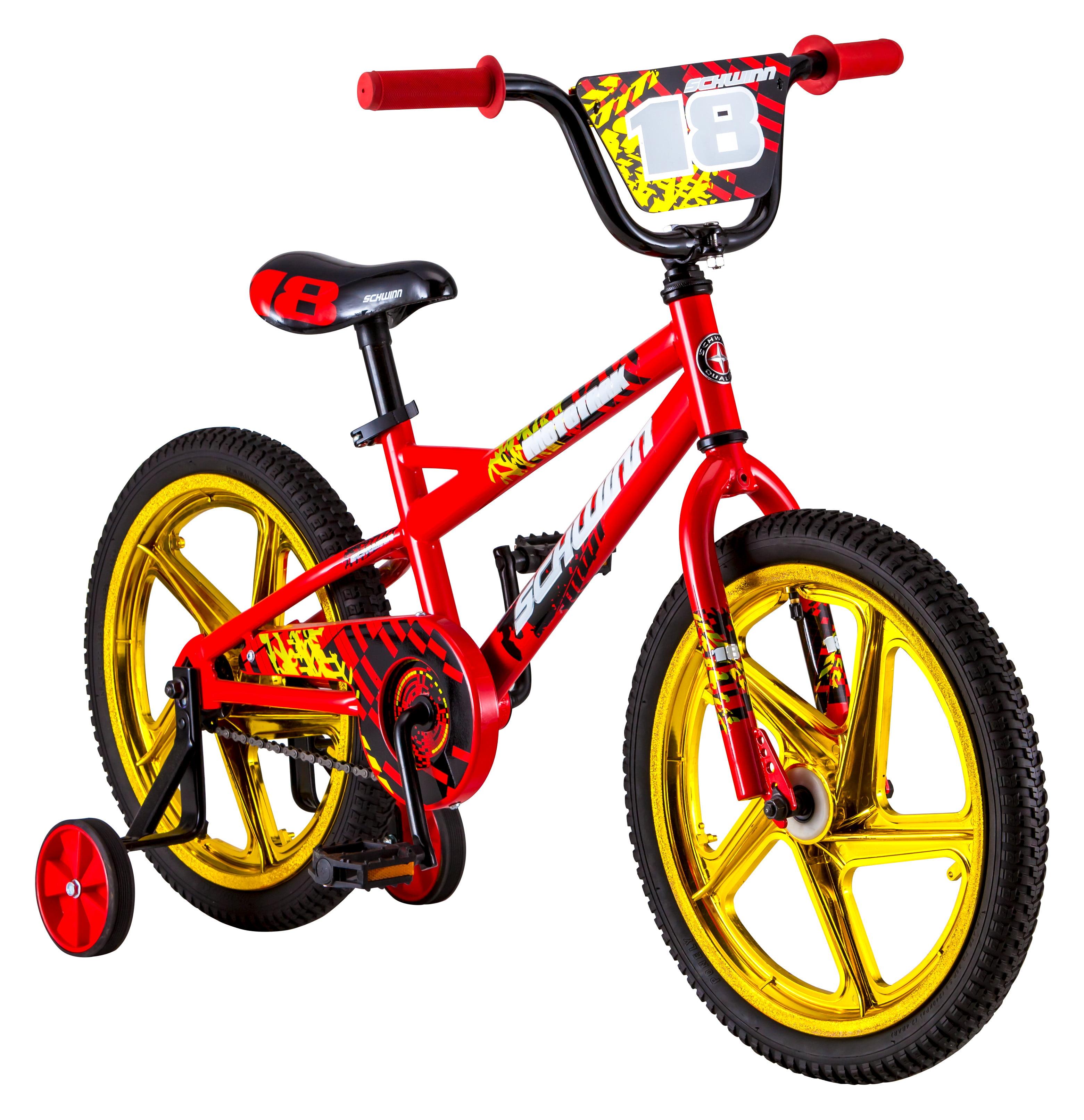 "18"" Schwinn Mototrax Boy's Sidewalk Bike, Red by Pacific Cycle"