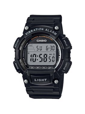 Casio Men's Sport Digital Watches with Vibration W736H