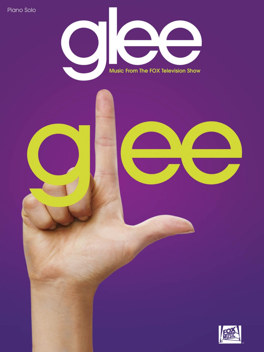 Hal Leonard Glee Music From The Fox Television Show For Piano Solo by