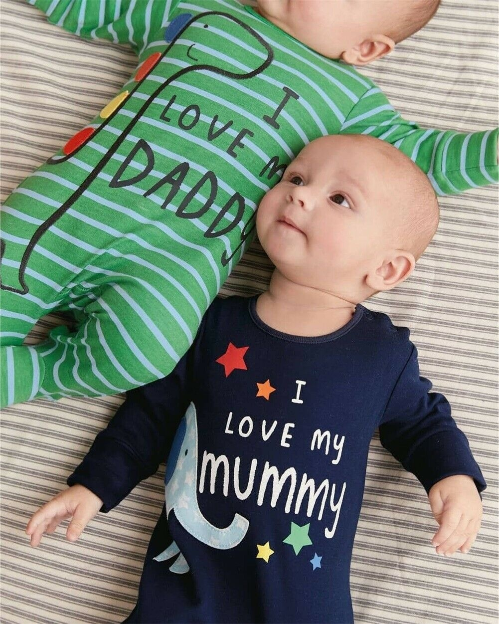 Newborn Infant Toddler Baby Boy Girls Letter Romper Jumpsuit Outfits Clothes