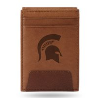 Michigan State Spartans Sparo Leather Front Pocket Wallet - No Size
