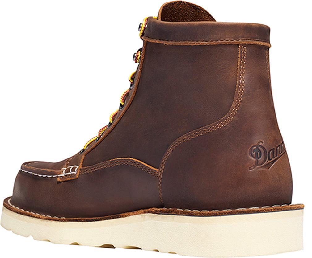 Danner Men Bull Run Moc Toe 6' Steel Toe Boots by Lacrosse Footwear Inc.