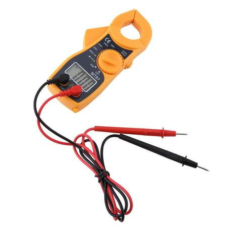 Digital Clamp Multimeter AC DC Voltmeter Ammeter Ohmmeter Volt Tester LCD Meter ()