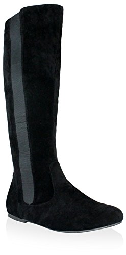 Olivia Miller Women's Ada Boot, Black, 6 M US