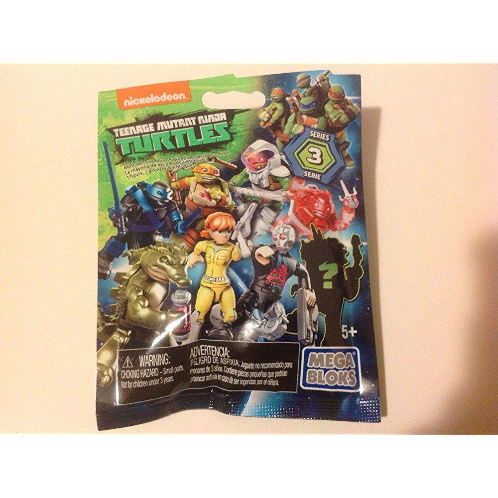 mega bloks teenage mutant ninja turtles series 3 blind pack