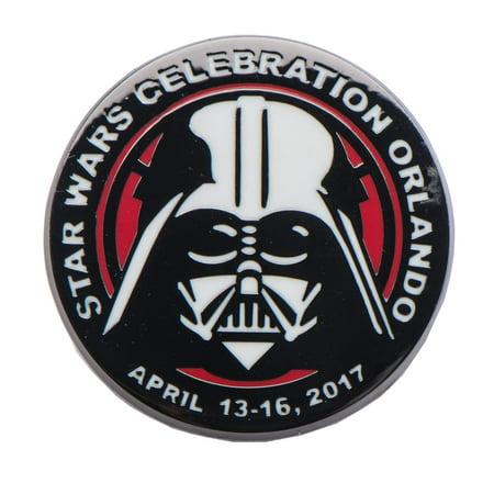 Star Wars Darth Vader Celebration 2017 Orlando Pin, Toynk - Halloween Celebration Orlando