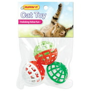 Westminster Pet Products Small Play Balls with Bell Cat Toy