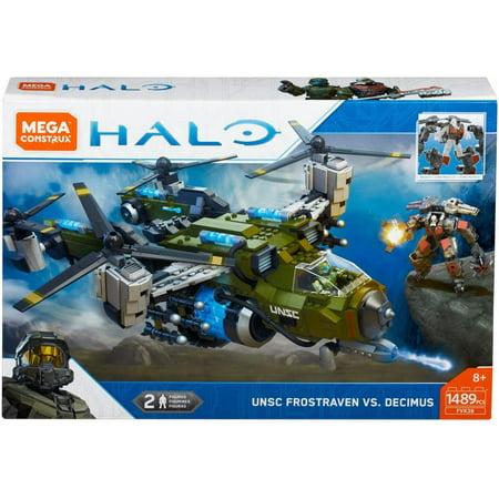 Mega Construx Halo Unsc Frostraven Vs. Decimus - Cortana Halo 5