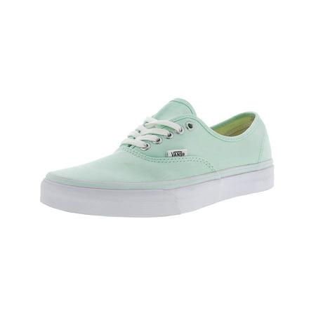 d6d01df4b111 VANS - Vans Authentic Bay   True White Ankle-High Canvas Skateboarding Shoe  - 10M 8.5M - Walmart.com
