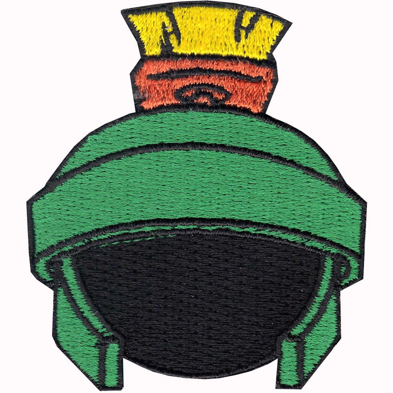 The Martian Helmet Iron On Applique Patch