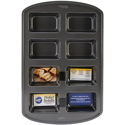 Wilton Perfect Results 8-Cavity Mini Loaf Pan 2105-3972