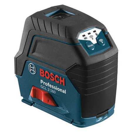 Bosch GCL 2-160 LR 6 165-ft. Cross Line Laser Combo
