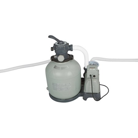 Intex Krystal Clear Sand Filter Pump for Above Ground Pools, 3000 GPH Pump Flow Rate, 110-120V with GFCI - Pool City Cranberry