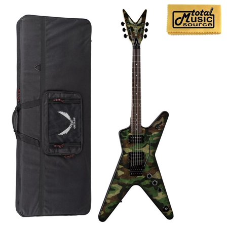 Dean DimeBag Camo ML Electric Guitar Floyd Rose FREE CASE DB CAMO F
